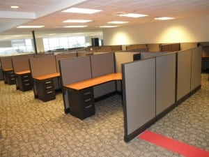 cubicles with files