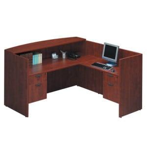 Reception L Desk Basic