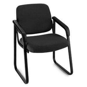 Black Fabric Guest Chair Black - Denver Metro