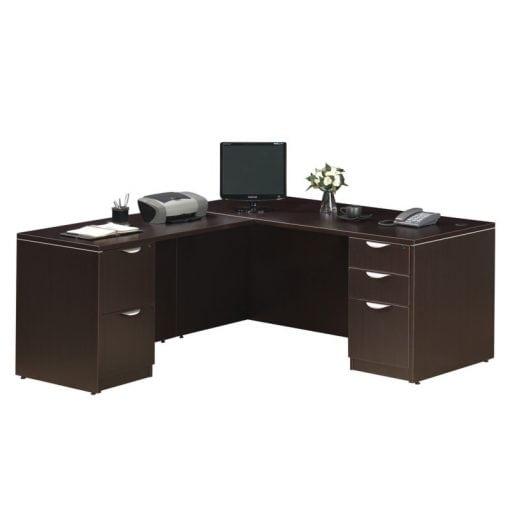 Standard L Desk Deluxe Files