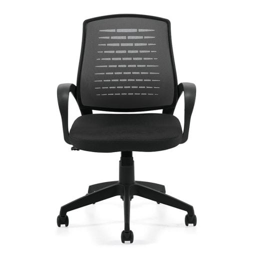 Mesh Back Managers Chair Black Denver Delivery