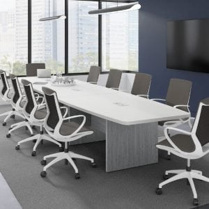 Boat-Shape-Conference-Table