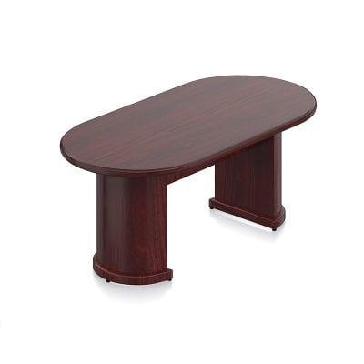 Wood Veneer Conference Table 6-12 ft