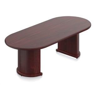 """Wood Veneer Round Table 42"""" & 48"""""""