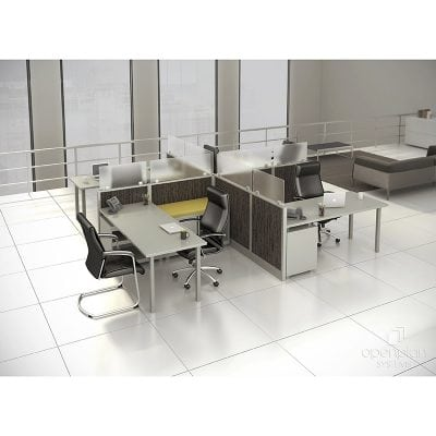 Sleek, Sharp, Modern Cubes & Desking Product