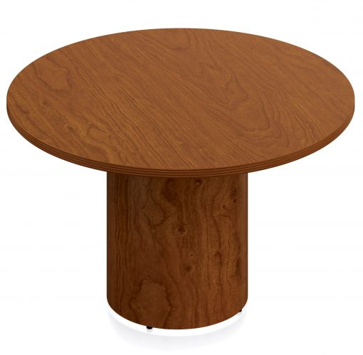 round reception table toffee color
