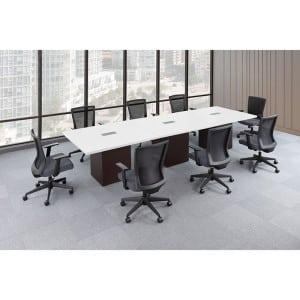 Rectangular, Modular Conference Table
