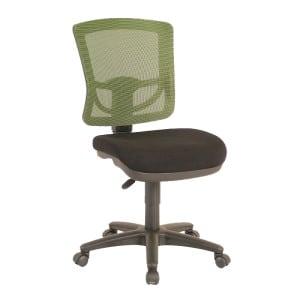 green mesh back office chair