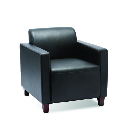 Budget Priced Club Chair in Black