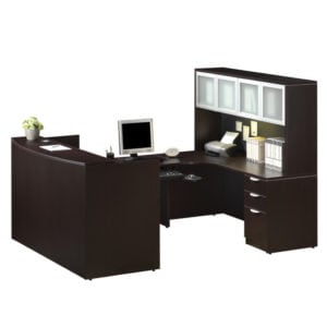 Deluxe Reception U Workstation
