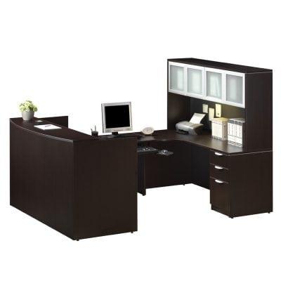 Deluxe Reception U Workstation