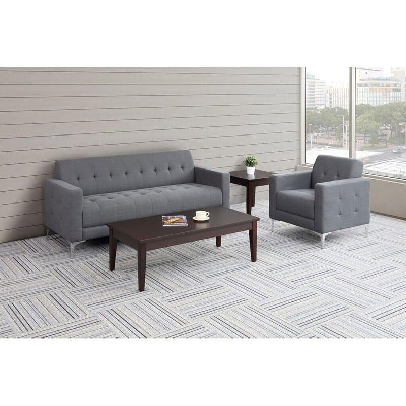 Fabric Reception Seating - Sofa & Club Chair - \
