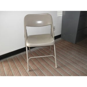 Folding Chair - Used Steel Denver Metro
