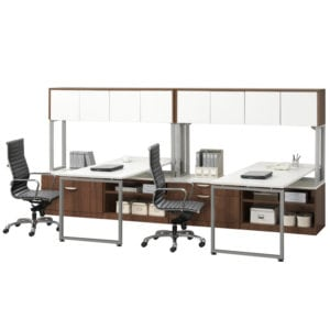 Open Plan, Shared Workstation