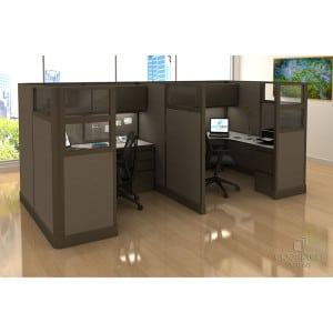 Sustainable, Remaufactured Cubicles