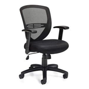 Versatile Mesh Back Office Chair Black Denver Metro