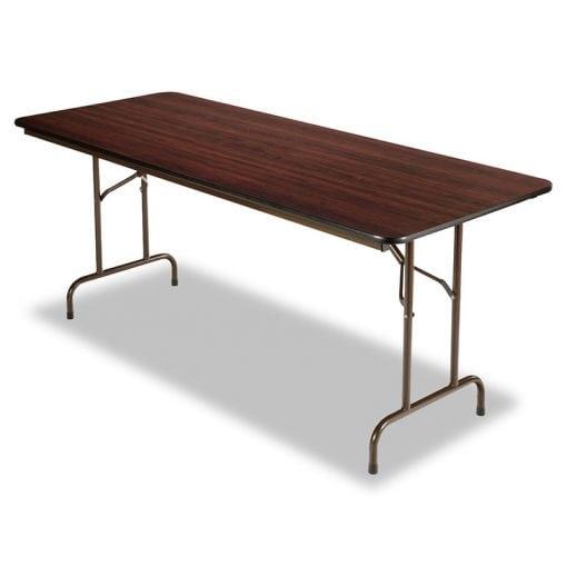 "Folding Table 48-72"", Walnut"