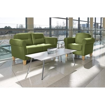 Jarvis Group Green Guest Seating