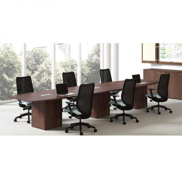 rectangular modular conference table