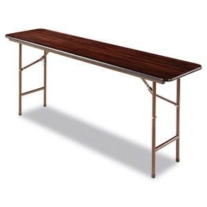 "Walnut Folding Table 48-72"""