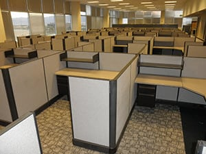 Alcatel-Lucent, Highlands Ranch, CO - Office Cubicle Project
