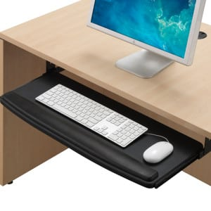Extra-Wide Pull-Out Keyboard Tray