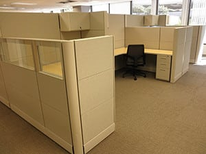 Landmark Dividend, LA, Phase 2 - Office Cubicle Project