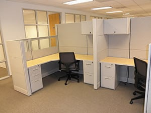 Landmark Dividend, Los Angeles, CA - Office Cubicle Project