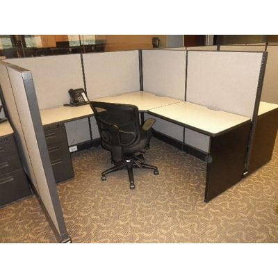 mid-height used cubicles