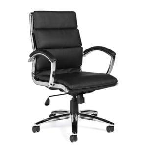 Segmented Cushion Manager Chair Black - Denver Metro
