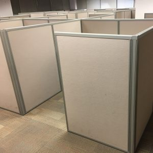 used mid height cubicles