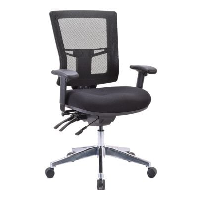 Big and Tall Mesh Chair, Fully Ergonomic