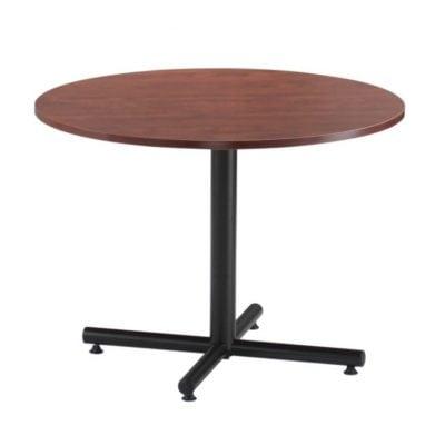 Multi-Use Round Table, Black X-Base