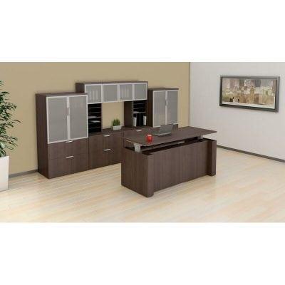 Height Adjustable Desk Sit Stand Station