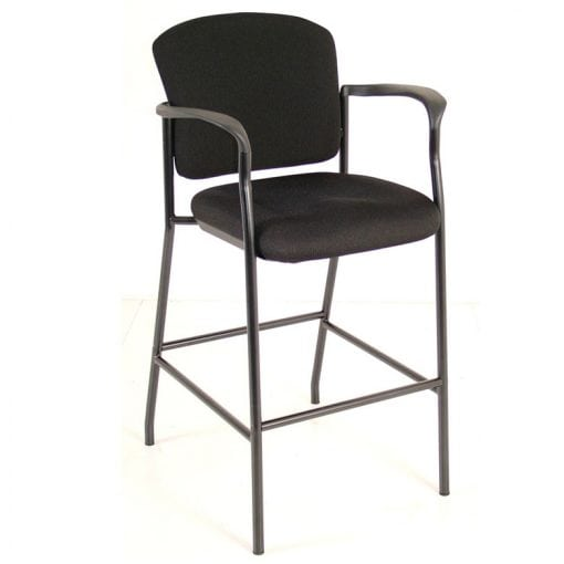 Padded Stool - With Arms and Back
