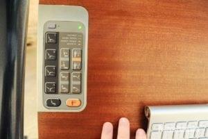 altwork station lay down desk