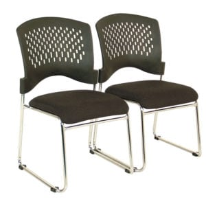 stackable chair, attached set