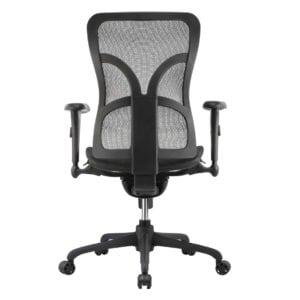 Ergonomic Mesh Seat Office Chair back view