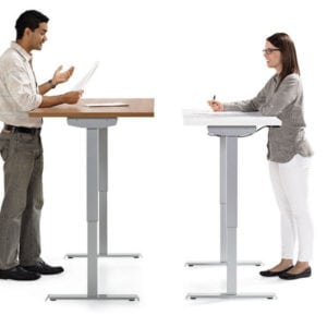 Custom Sit Stand Desk Options 1
