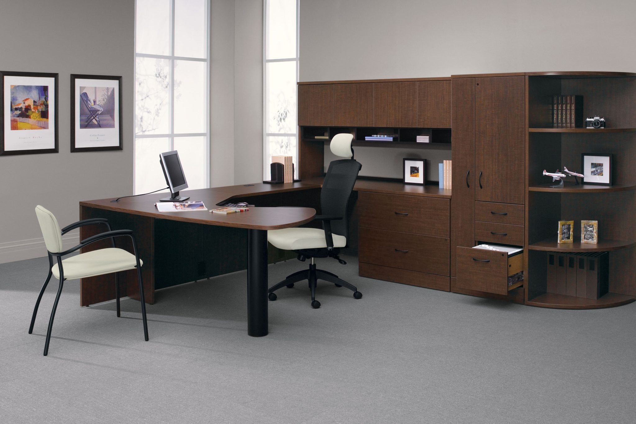 Adaptabilities Desk - A variety of colors and components