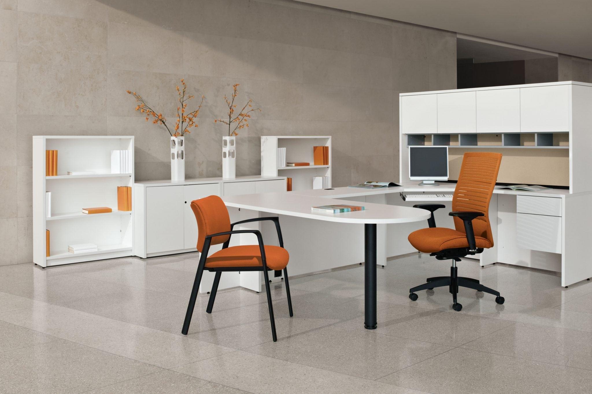 Genoa Executive Pedestal Desk