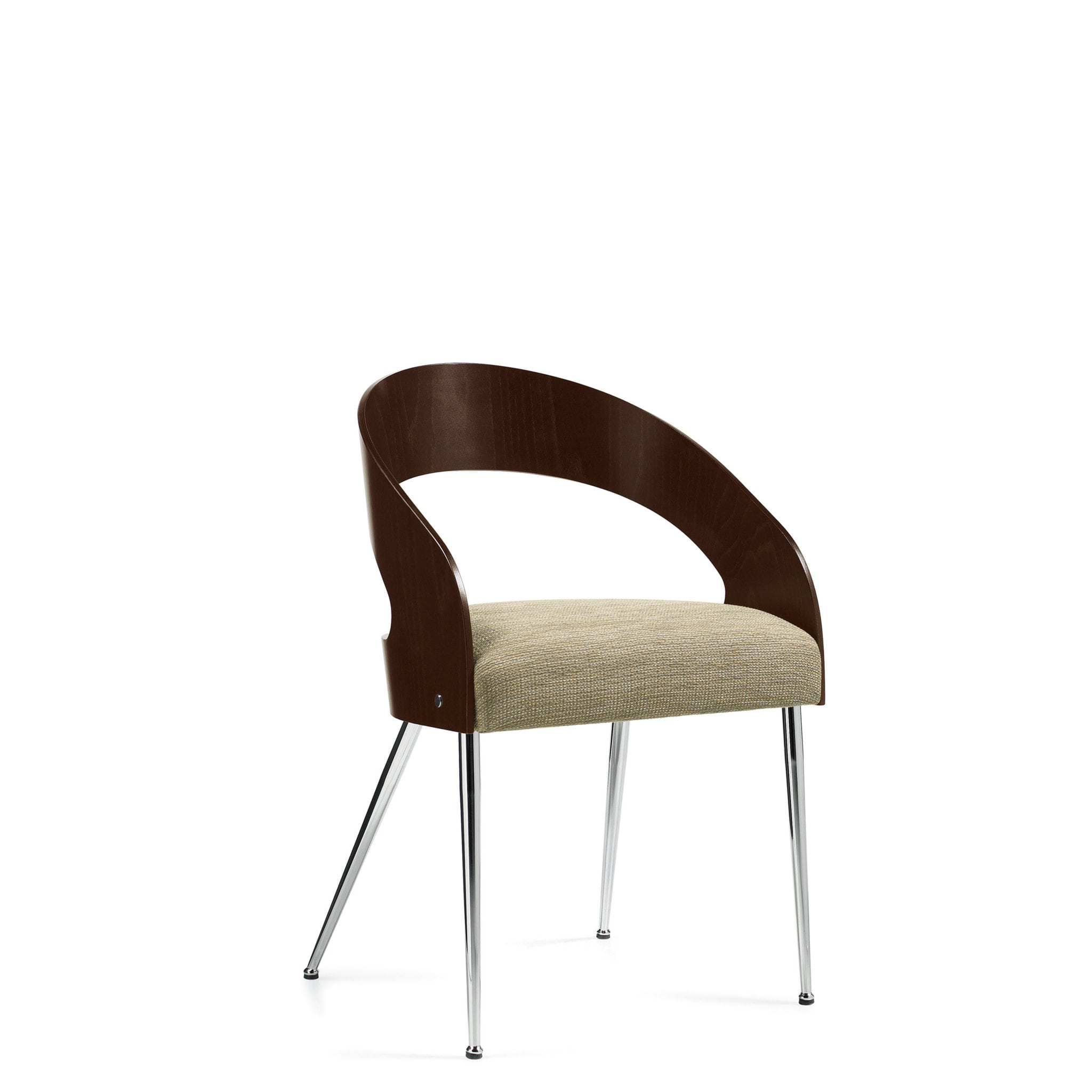 The Marche Guest Chair - Multi-use seating utilizing wood and metal design accents