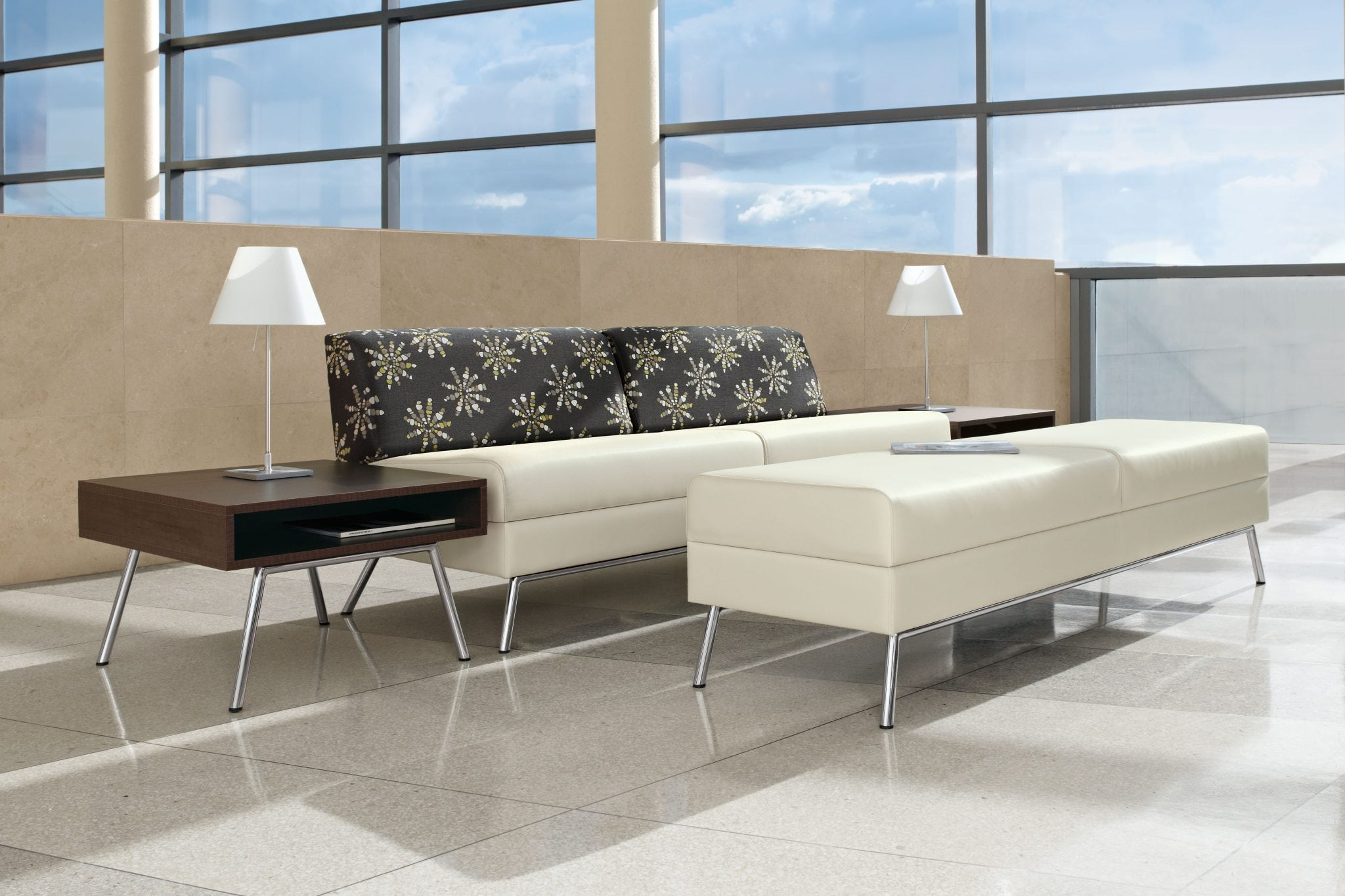 Wind Linear - A very popular seating collection