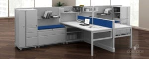 Desk Privacy Panel Workstation Divider