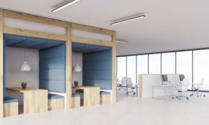 Modern office layouts