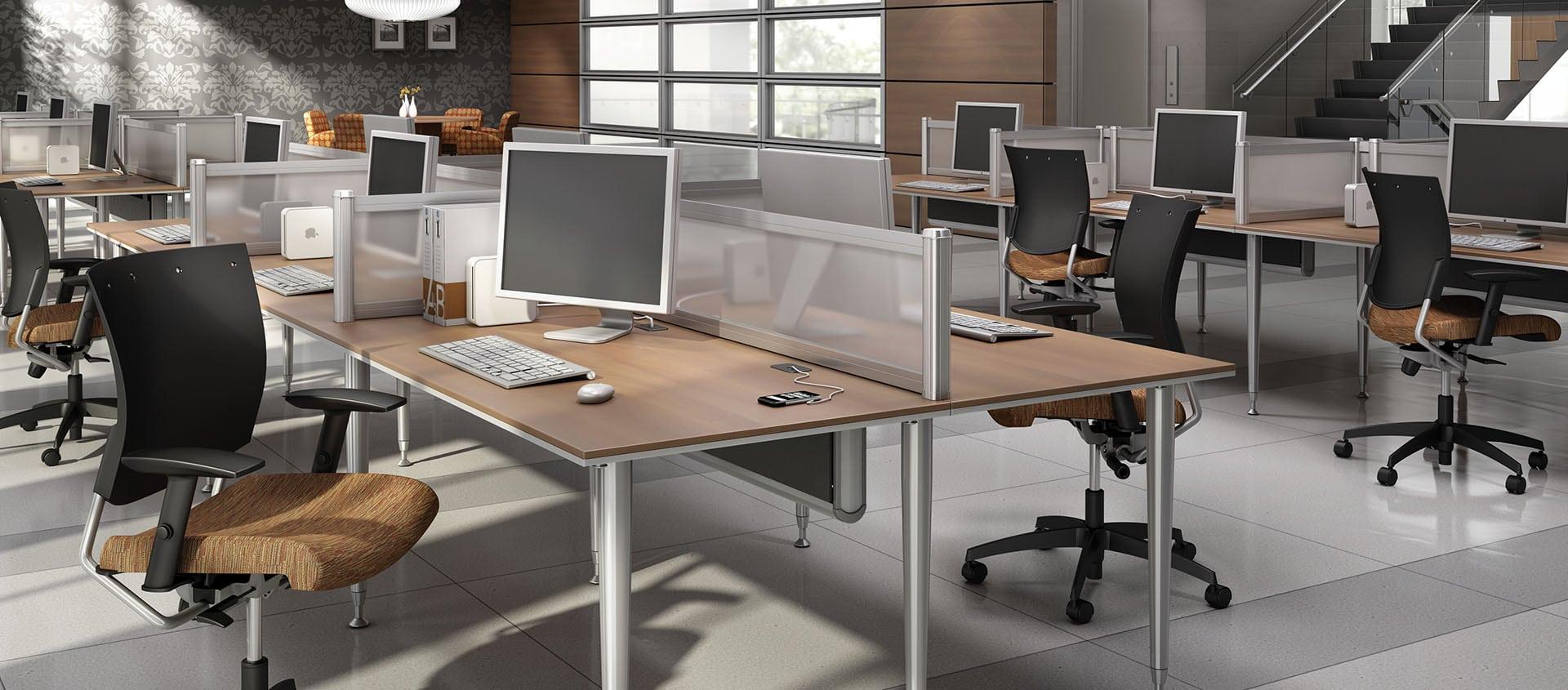 Bungee SL Open Office Plan Desks
