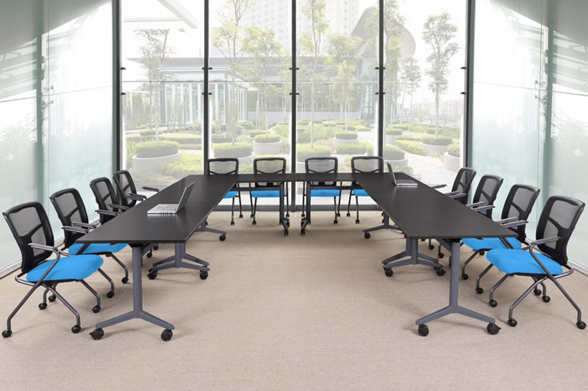 Fiptop Tables - Ideal for classroom, meeting, and institutional applications, these heavy duty flip top tables provide flexibility and convenience at an outstanding price.