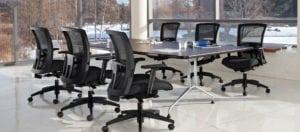 Modern office layouts