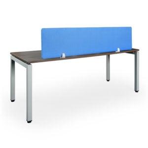 desk privacy panel blue