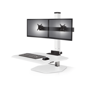 EZ Powered Dual Monitor Sit Stand